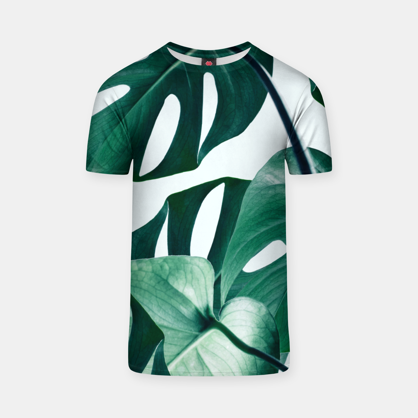 Image of Monstera Tropical T-shirt - Live Heroes