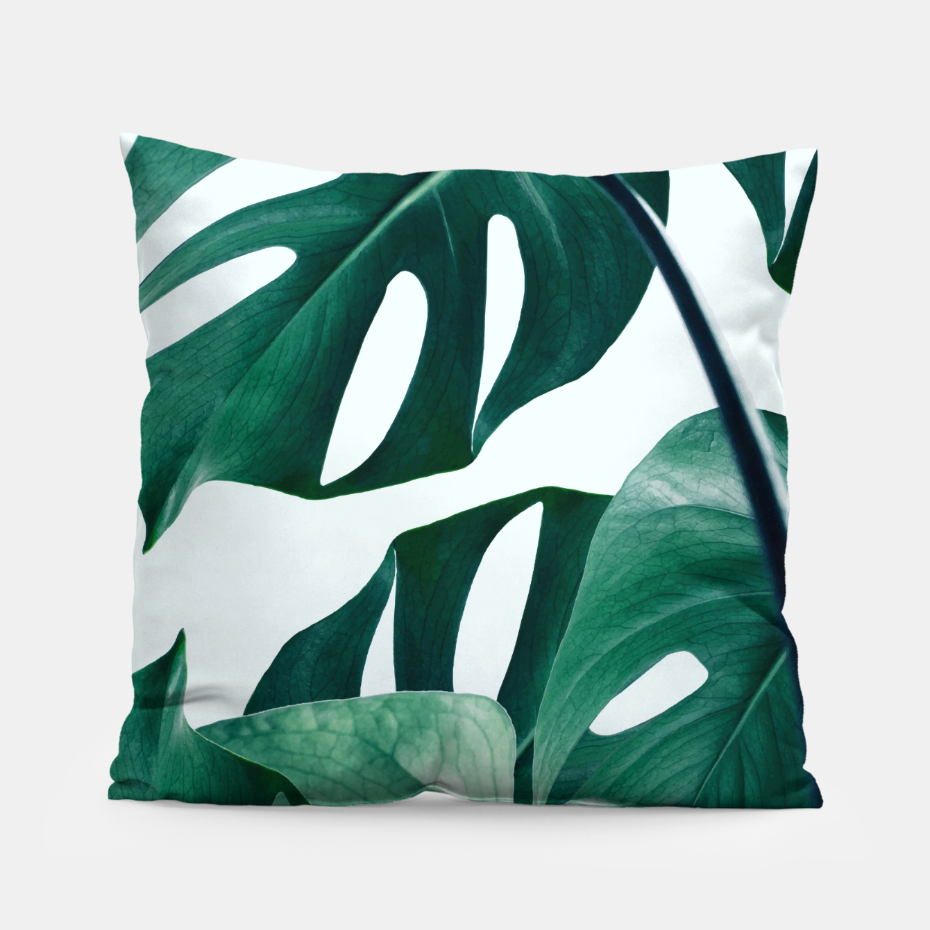 Image of Monstera Tropical Pillow - Live Heroes