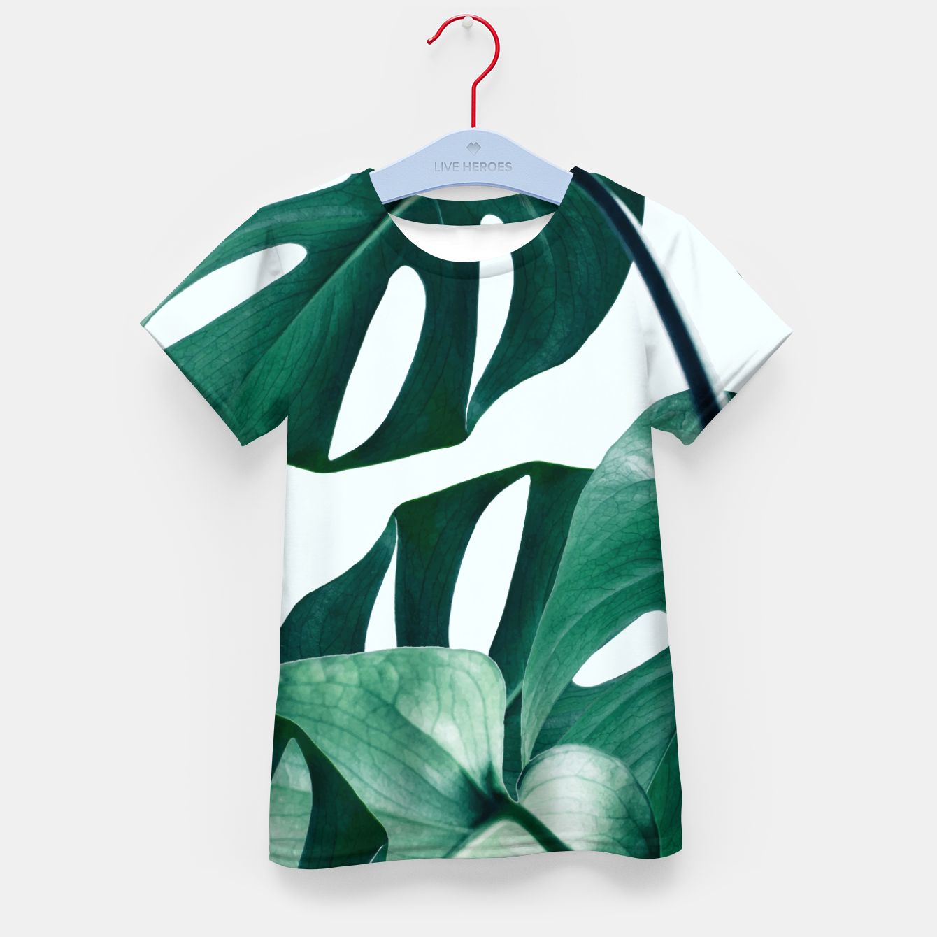 Image of Monstera Tropical Kid's t-shirt - Live Heroes
