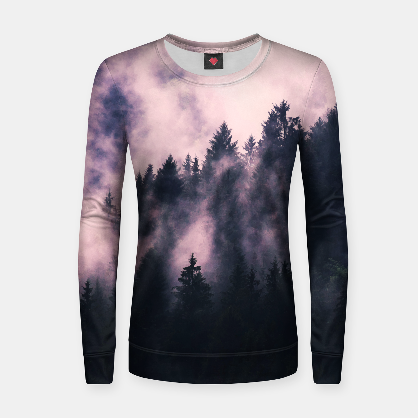 Image of Foggy Night  Women sweater - Live Heroes