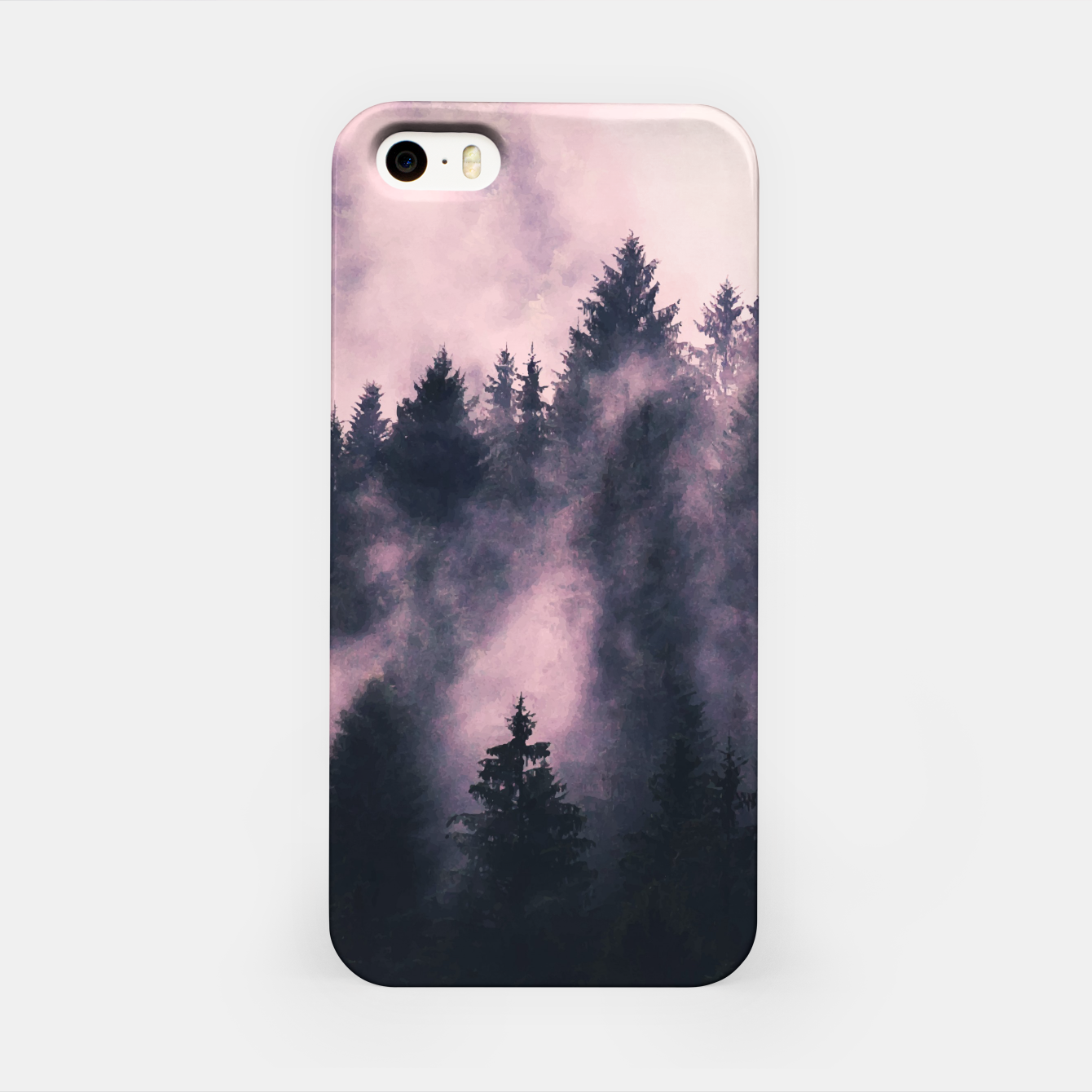 Image of Foggy Night  iPhone Case - Live Heroes