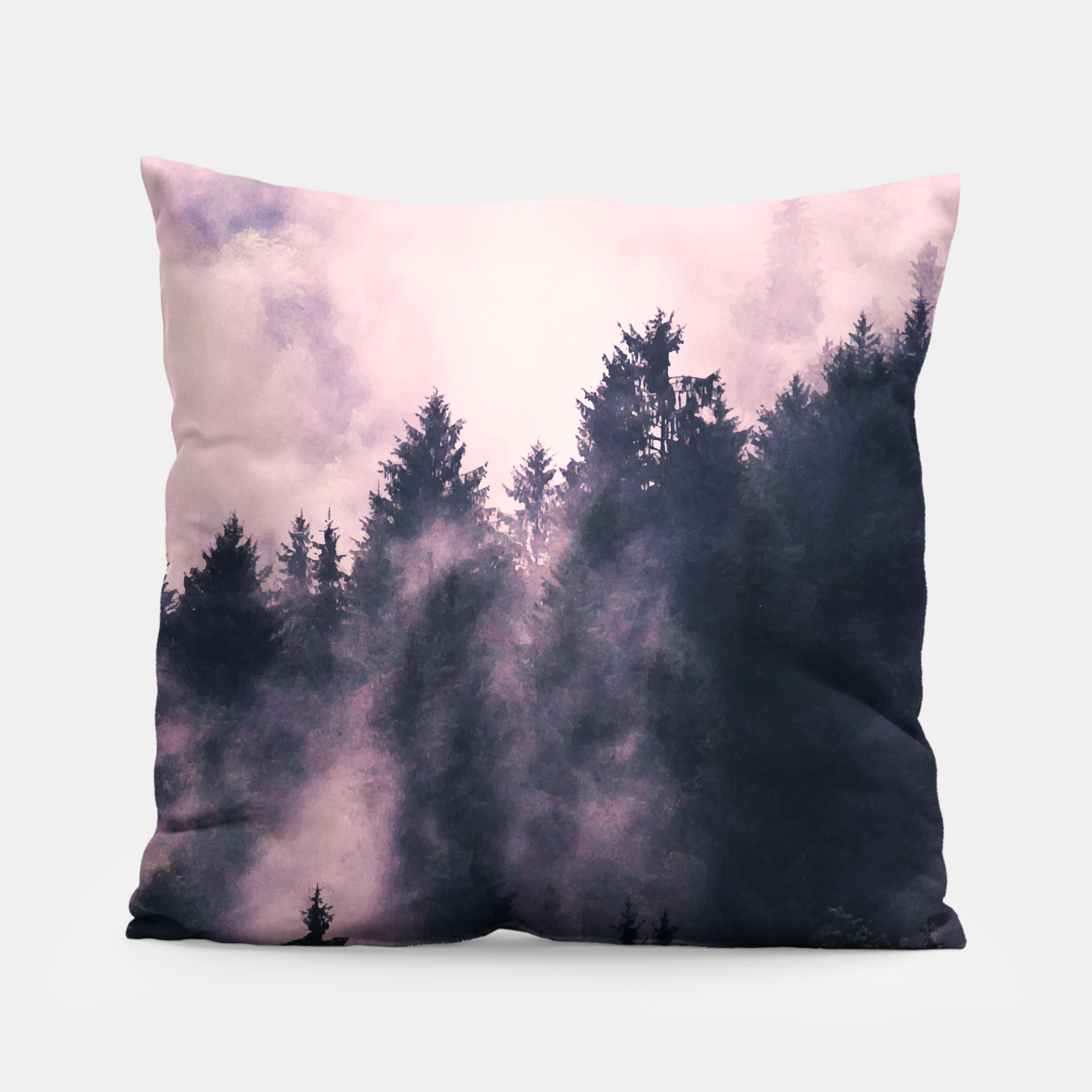 Image of Foggy Night  Pillow - Live Heroes