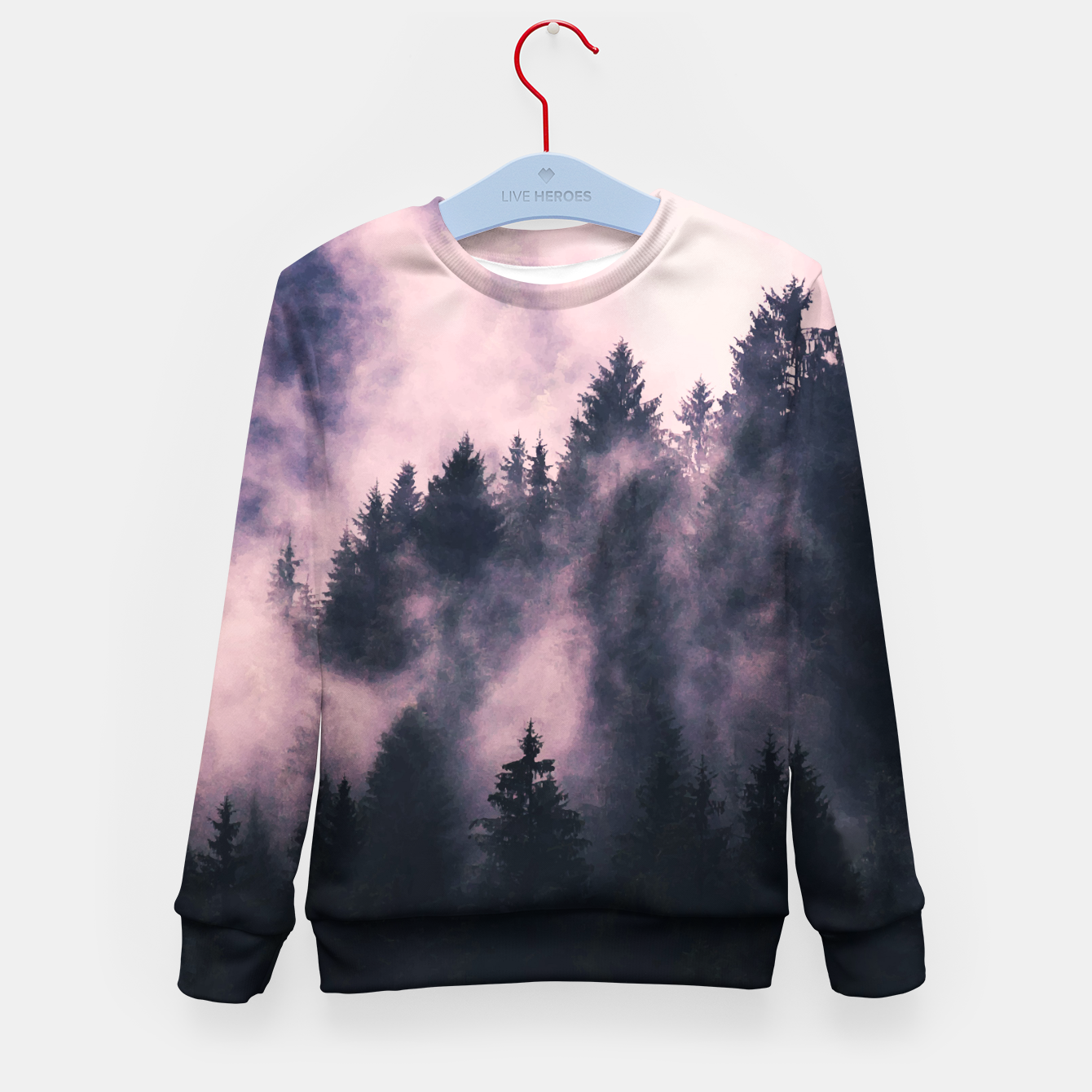 Image of Foggy Night  Kid's sweater - Live Heroes