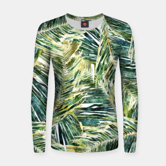 Thumbnail image of Classic Palm  Women sweater, Live Heroes