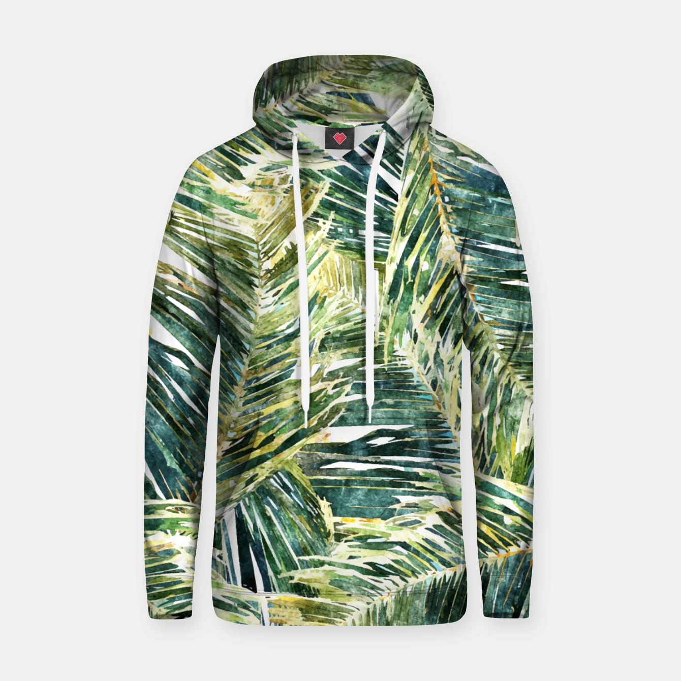 Image of Classic Palm  Hoodie - Live Heroes