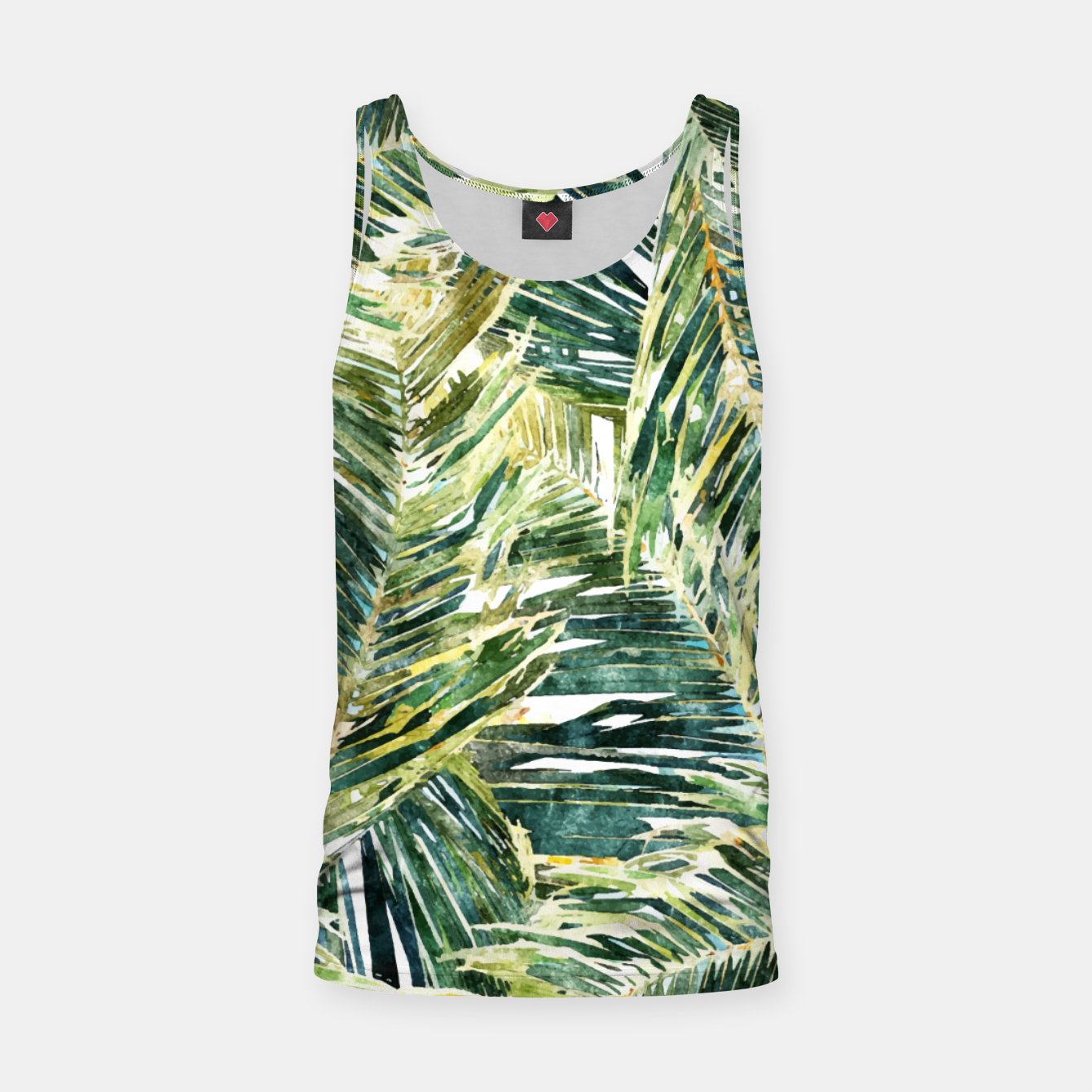 Image of Classic Palm  Tank Top - Live Heroes