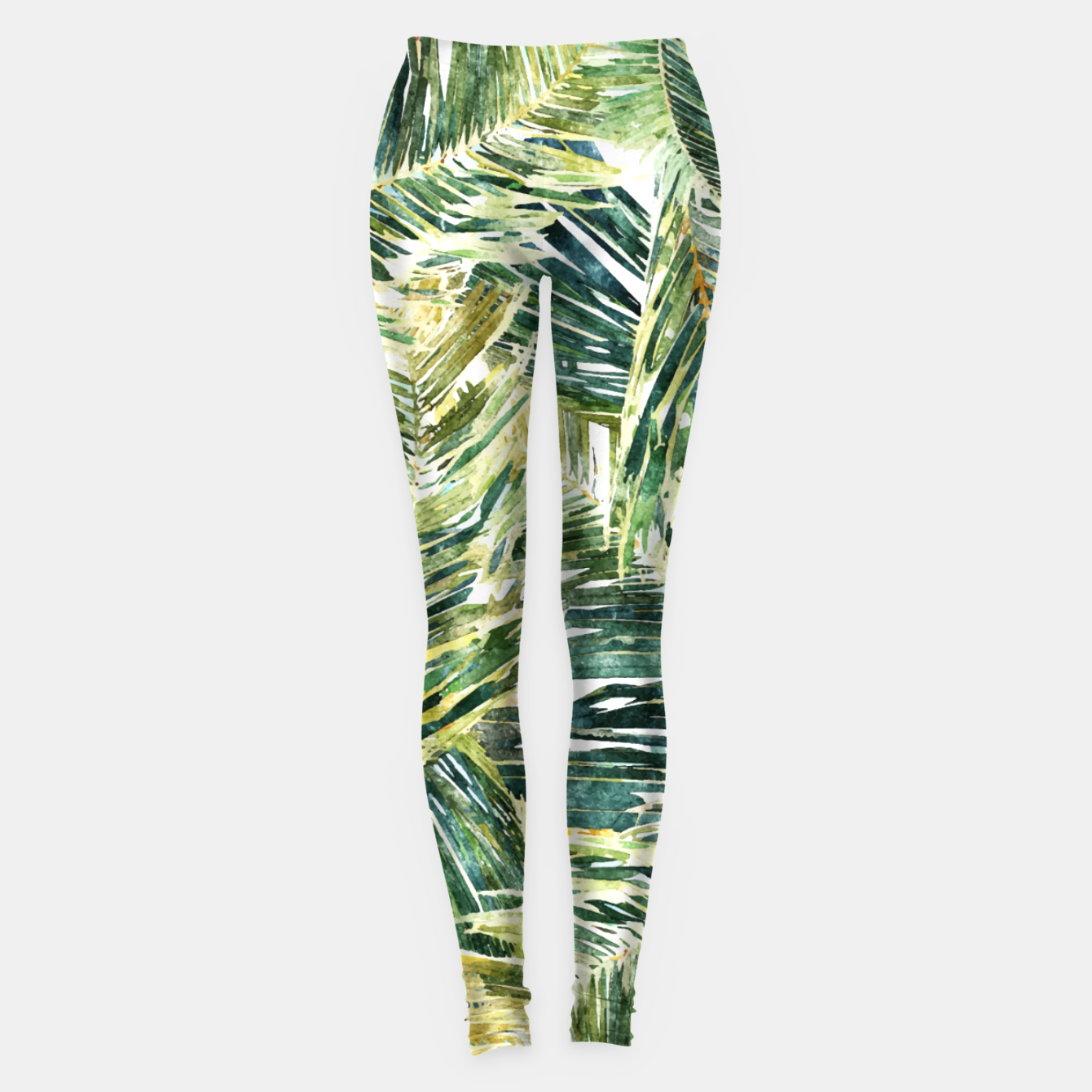 Image of Classic Palm  Leggings - Live Heroes