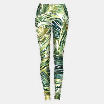 Thumbnail image of Classic Palm  Leggings, Live Heroes