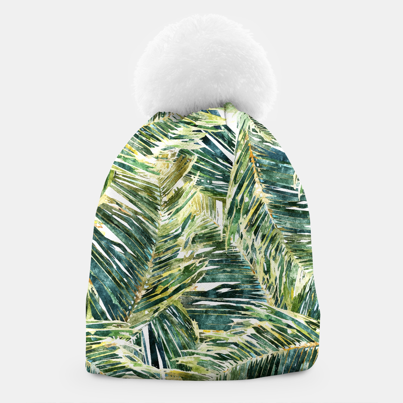 Image of Classic Palm  Beanie - Live Heroes