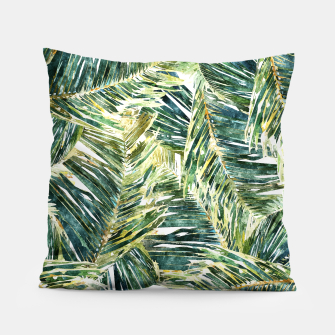 Thumbnail image of Classic Palm  Pillow, Live Heroes