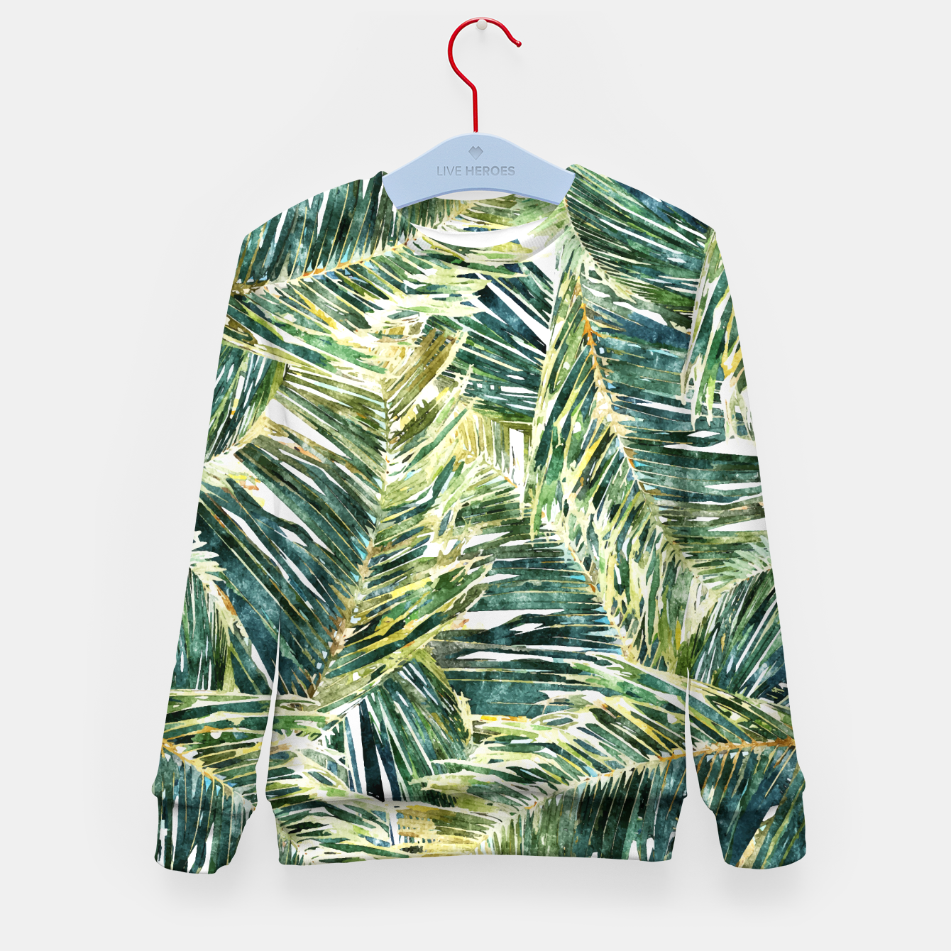 Image of Classic Palm  Kid's sweater - Live Heroes