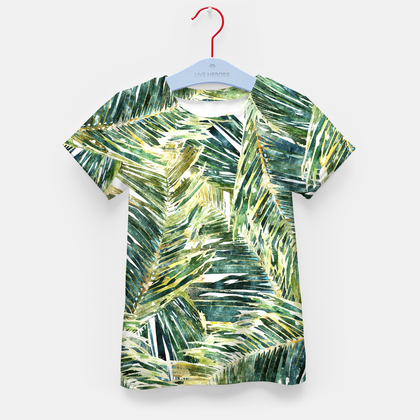 Image of Classic Palm  Kid's t-shirt - Live Heroes