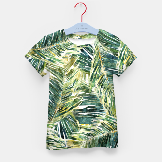 Thumbnail image of Classic Palm  Kid's t-shirt, Live Heroes