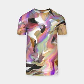 Miniatur Abstract strokes colorful 5 Camiseta, Live Heroes