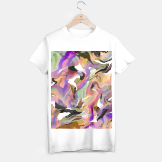 Miniatur Abstract strokes colorful 5 Camiseta Regular, Live Heroes