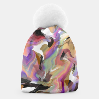 Miniatur Abstract strokes colorful 5 Gorro, Live Heroes