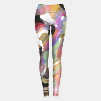 Miniatur Abstract strokes colorful 5 Leggings, Live Heroes