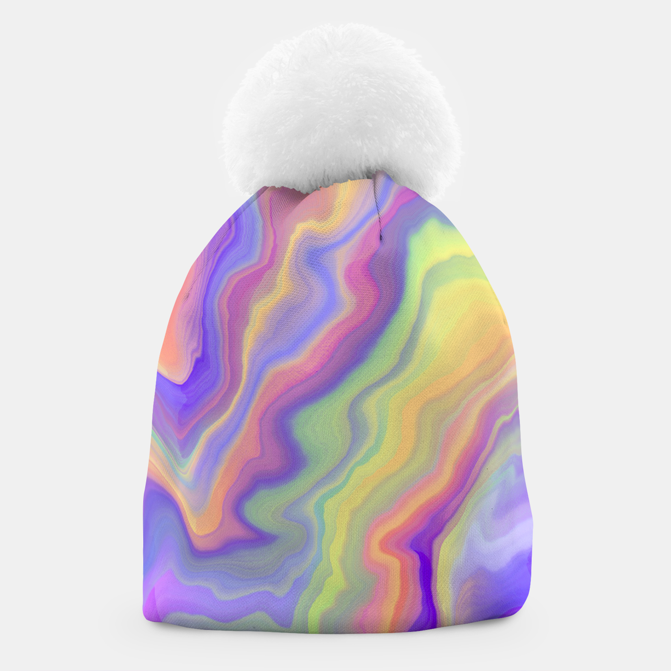 Image of Colorful liquid waves 95 Gorro - Live Heroes