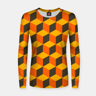 Thumbnail image of 70s Cubes Women sweater, Live Heroes