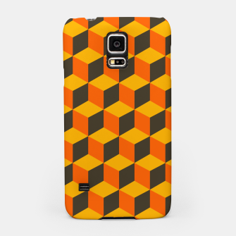 Thumbnail image of 70s Cubes Samsung Case, Live Heroes