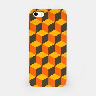 Thumbnail image of 70s Cubes iPhone Case, Live Heroes