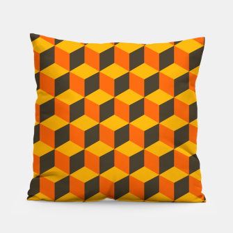 Thumbnail image of 70s Cubes Pillow, Live Heroes