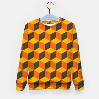 Thumbnail image of 70s Cubes Kid's sweater, Live Heroes