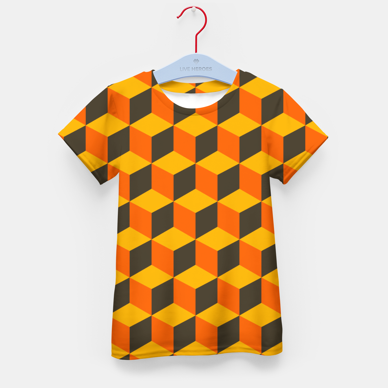 Image of 70s Cubes Kid's t-shirt - Live Heroes