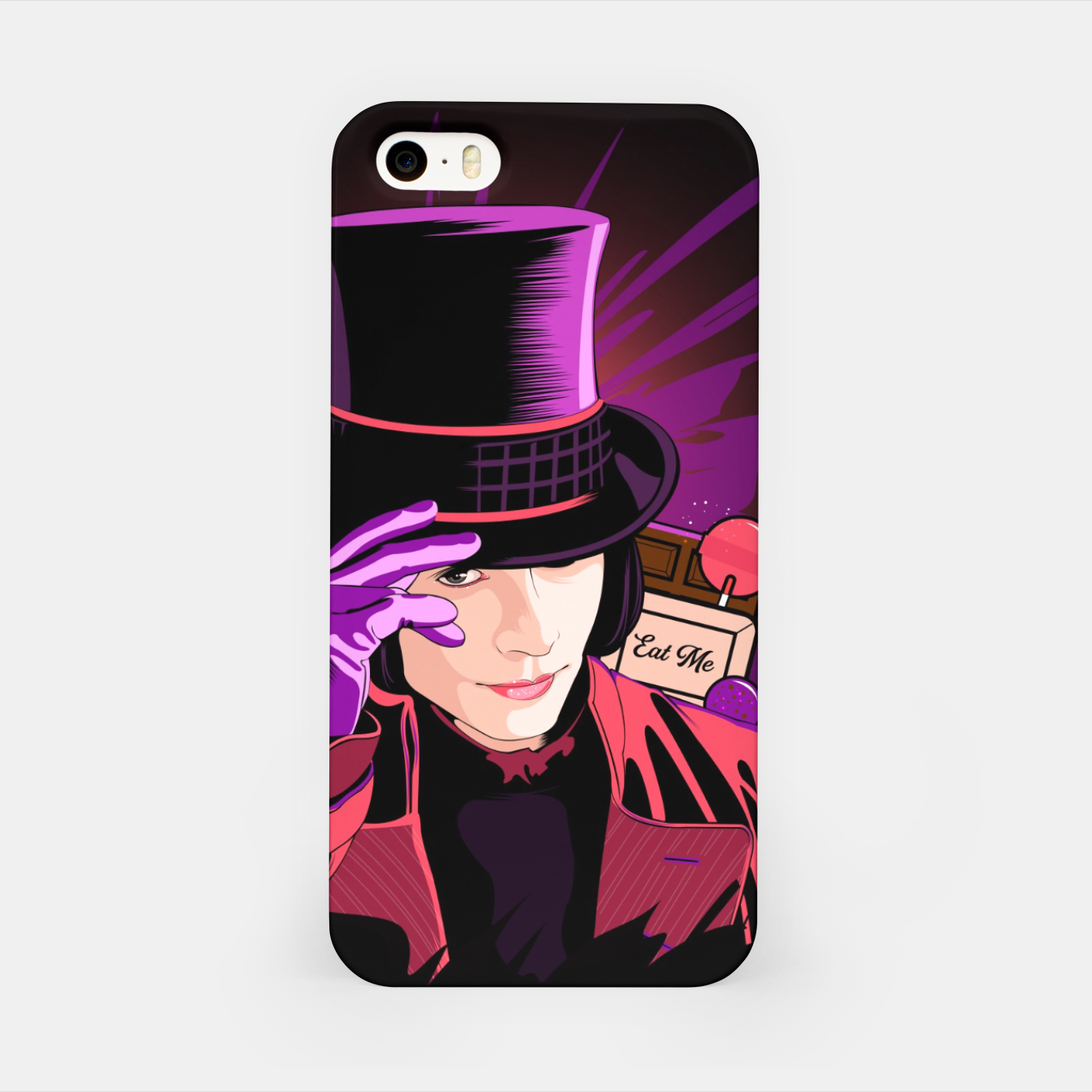 Image of Willy Wonka Carcasa por Iphone - Live Heroes