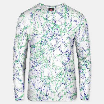 Thumbnail image of Abstract Textured Print Design Unisex sweater, Live Heroes