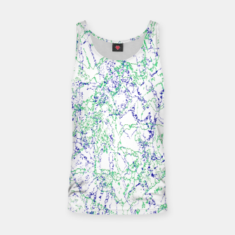Thumbnail image of Abstract Textured Print Design Tank Top, Live Heroes