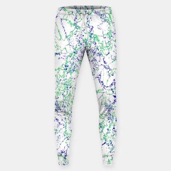 Thumbnail image of Abstract Textured Print Design Sweatpants, Live Heroes