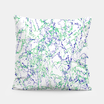 Thumbnail image of Abstract Textured Print Design Pillow, Live Heroes