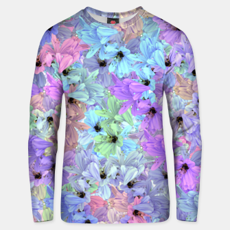 Thumbnail image of Lilies with bees  Unisex sweatshirt, Live Heroes