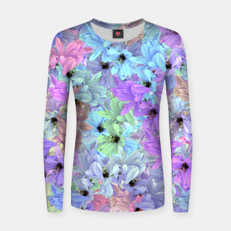 Thumbnail image of Lilies with bees  Frauen sweatshirt, Live Heroes