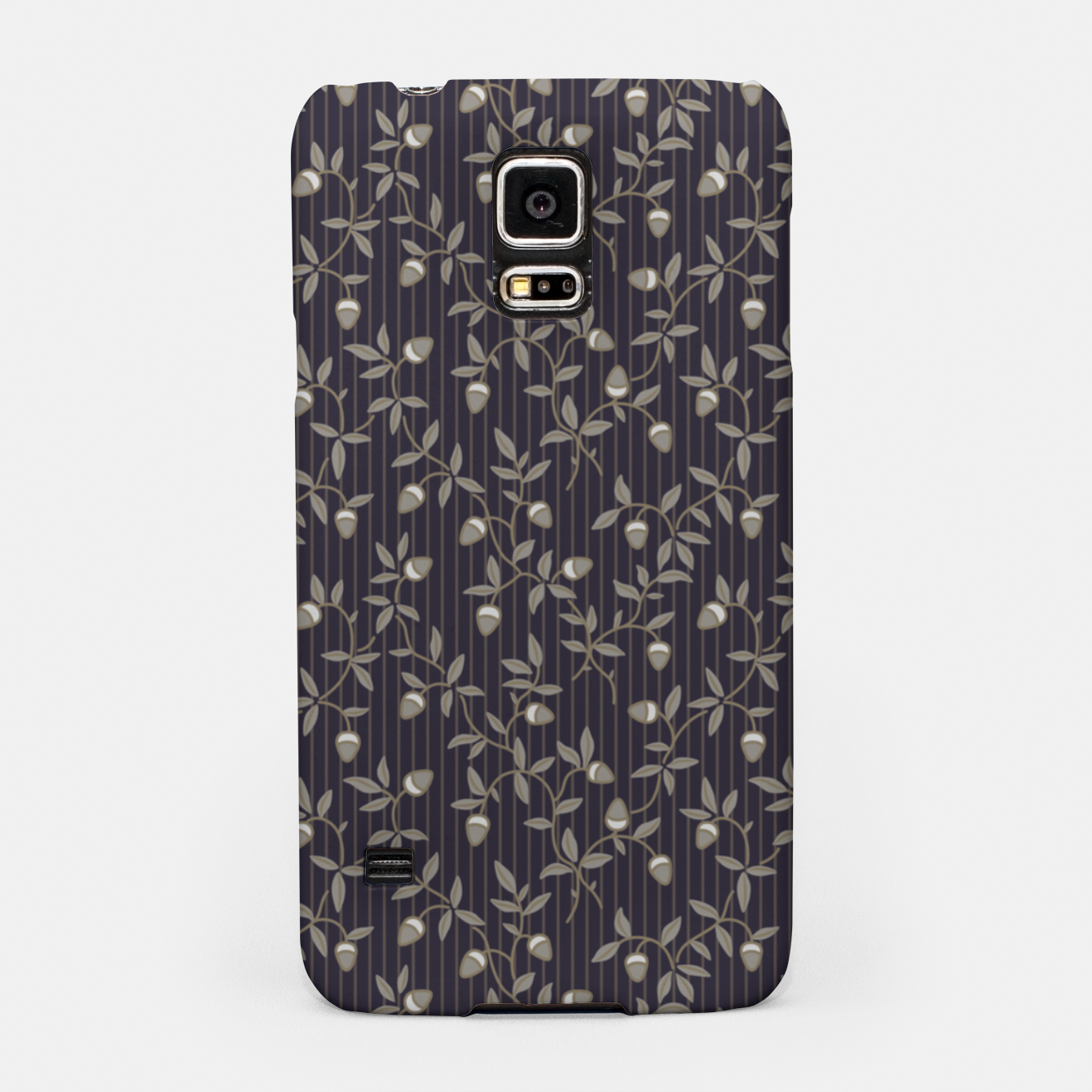 Image of Ornate hazel branches in grey Samsung Case - Live Heroes
