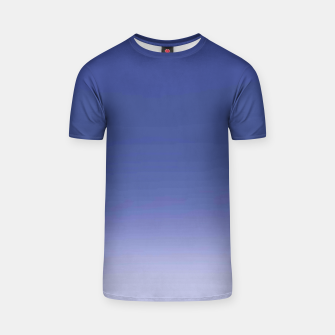 Thumbnail image of Ombre Blue T-Shirt, Live Heroes