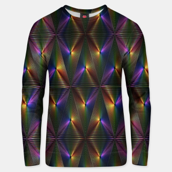 Thumbnail image of Neon lights Unisex sweater, Live Heroes