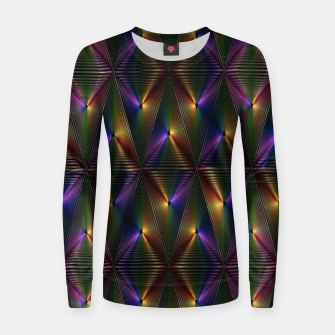 Thumbnail image of Neon lights Women sweater, Live Heroes
