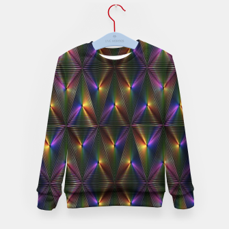 Thumbnail image of Neon lights Kid's sweater, Live Heroes
