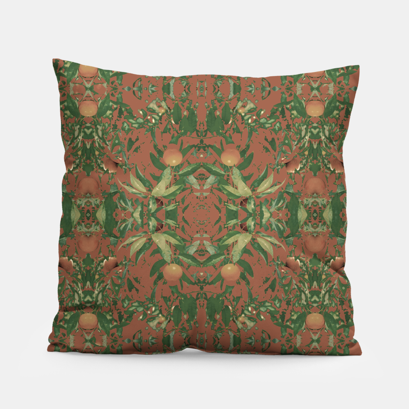 Image of Modern Tropical Print Pillow - Live Heroes