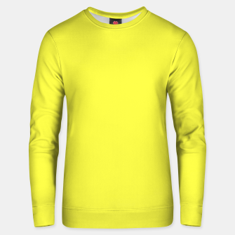Thumbnail image of Plain yellow Unisex sweater, Live Heroes