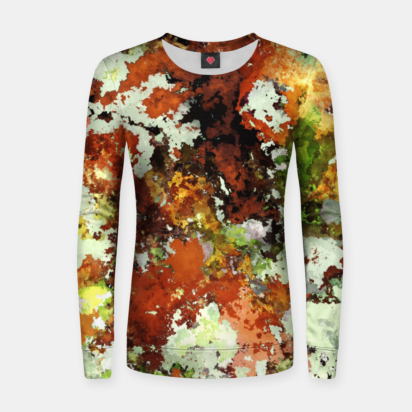 Image of Abandoned wall Women sweater - Live Heroes