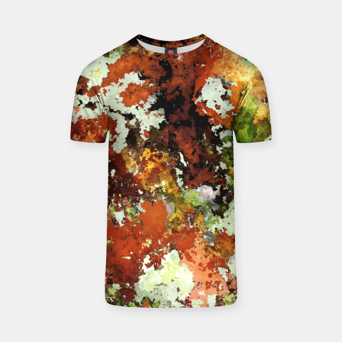 Image of Abandoned wall T-shirt - Live Heroes