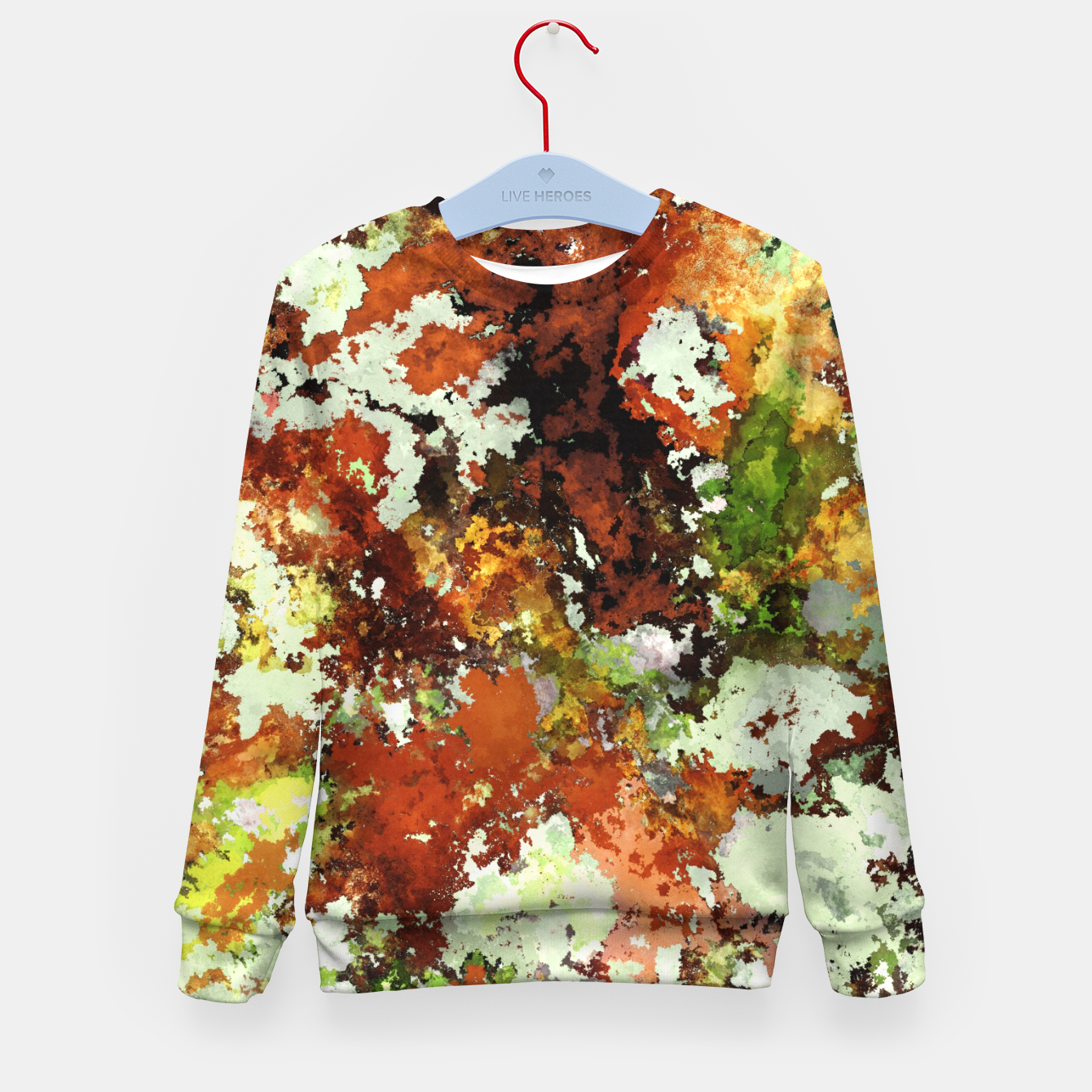 Image of Abandoned wall Kid's sweater - Live Heroes