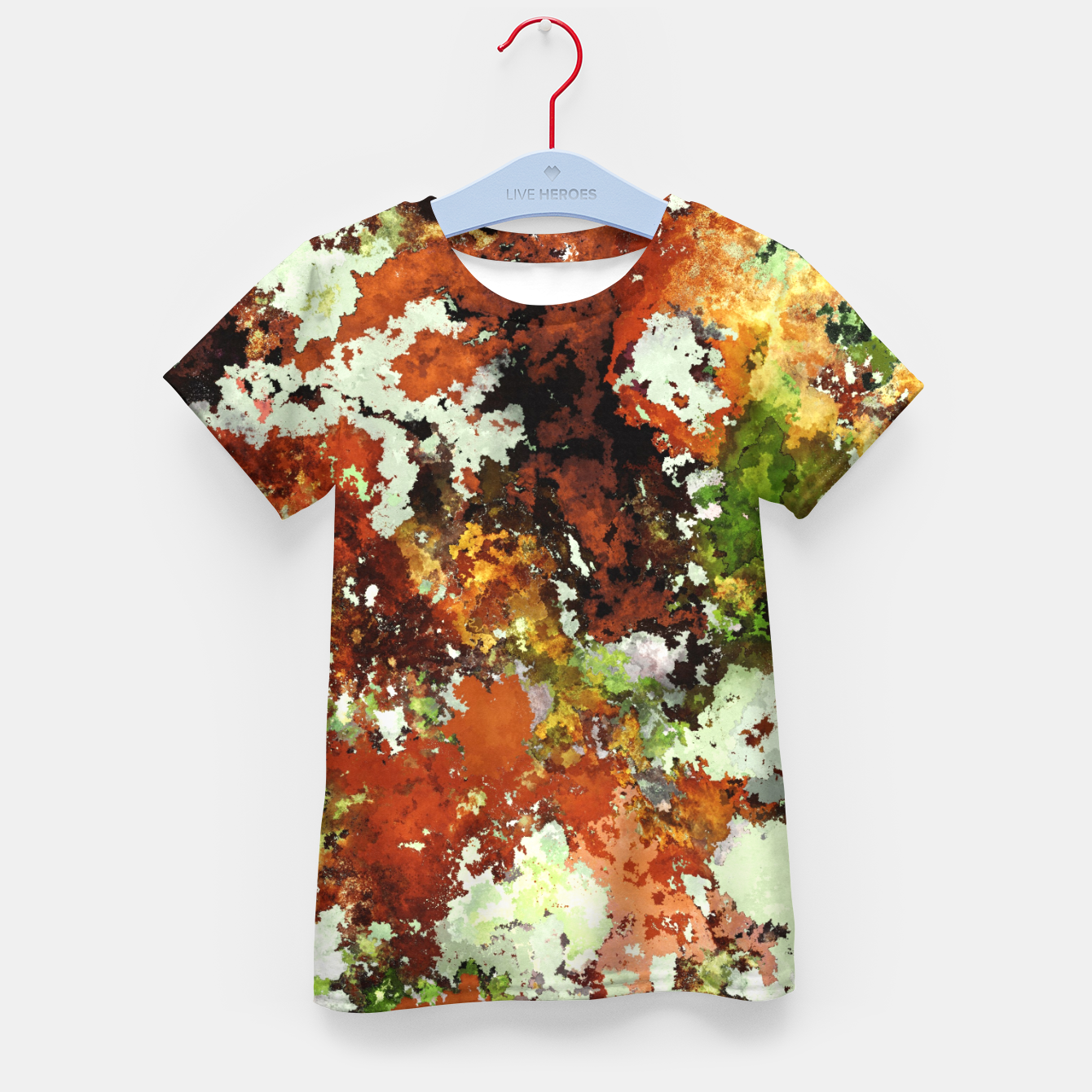 Image of Abandoned wall Kid's t-shirt - Live Heroes
