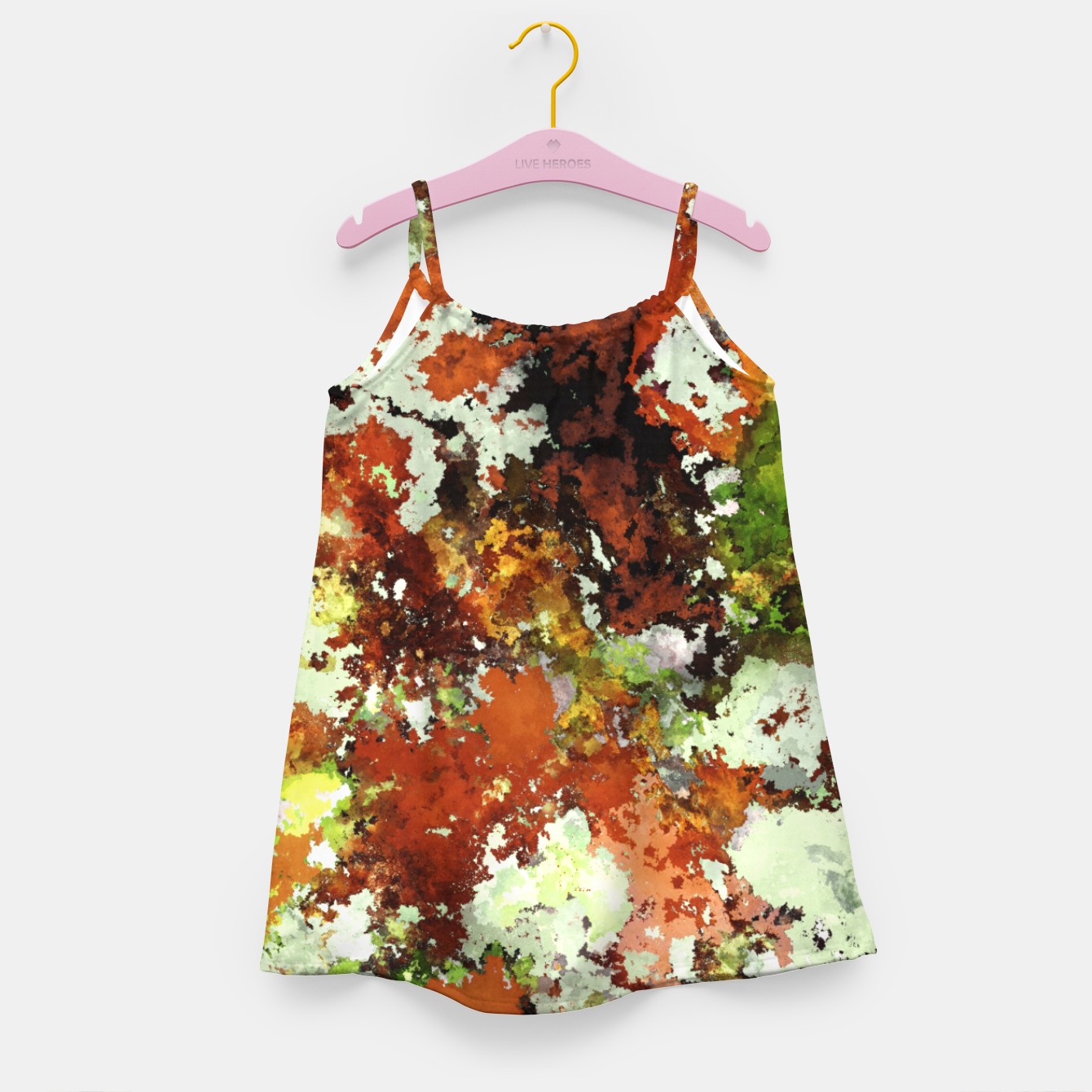 Image of Abandoned wall Girl's dress - Live Heroes