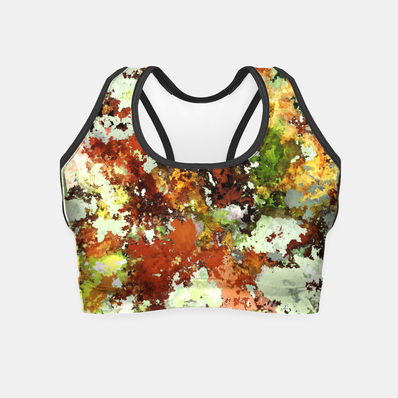 Image of Abandoned wall Crop Top - Live Heroes