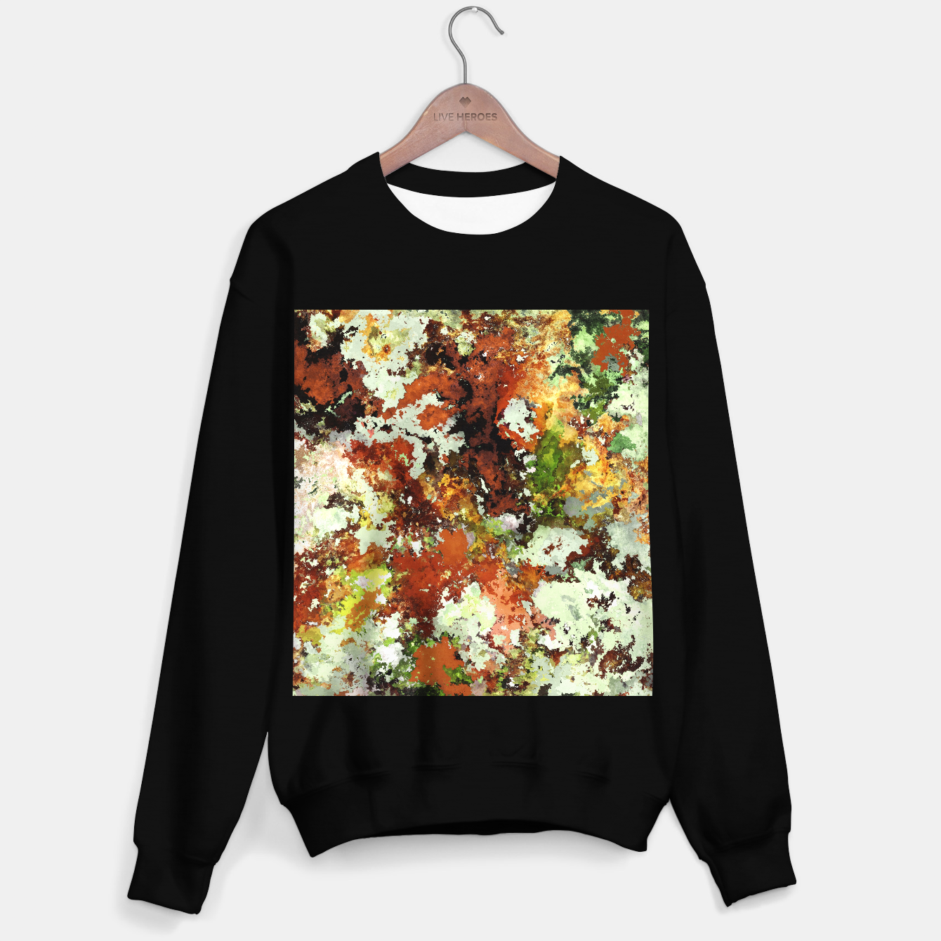 Image of Abandoned wall Sweater regular - Live Heroes