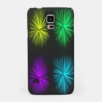 Thumbnail image of Colorful fireworks on black Samsung Case, Live Heroes